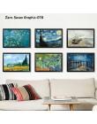 07G Van Gogh obraz olejny działa słonecznik morela streszczenie A4 A3 A2 płótno nadrukowany plakat artystyczny ściana z obrazami