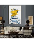 Nowoczesny skandynawski czarno-biały obraz na płótnie plakat na ścianę streszczenie dziewczyna ściany zdjęcia ściany sztuki do s