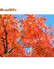 RUOPOTY rama wiśniowe kwiaty droga Diy obrazy olejne według liczb zestawy Wall Art obraz ozdobny farba akrylowa na płótnie dla s