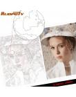 Osobowość zdjęcie dostosowane własne DIY obrazy olejne według liczb obraz rysunek na płótnie portret ślub rodzina dzieci zdjęcia