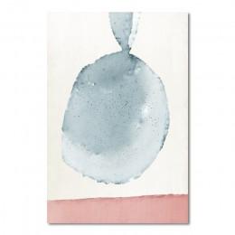 Abstrakcyjne obrazy na ścianie Wall Art pastelowe plakaty i druki minimalistyczny obraz na płótnie zdjęcia do dekoracji dekoracj