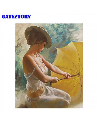 Obraz w ramie ręcznie malowany obrazek według numerów zestaw rysunek płótno według numerów nowoczesne akrylowe kolorowanie wedłu