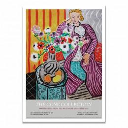 Henri Matisse Fashion Retro plakaty i druki abstrakcyjny portret obraz ścienny na płótnie zdjęcia do salonu Home Decor