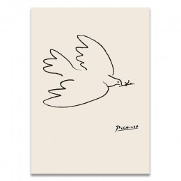 Klasyczne Amedeo Modigliani Picasso grafika kolekcja szkic druk na płótnie obraz plakat zdjęcia ścienny salon Home Decor