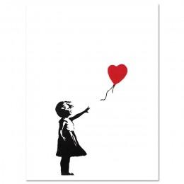 Banksy Canvas drukowany obraz obraz ścienny na płótnie Nordic plakaty i druki zdjęcia ścienny do salonu streszczenie Cuadros Dec