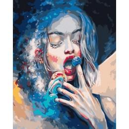 AZQSD obrazy olejne według liczb piękna dziewczyna klasyczne ręcznie malowane płótno ścienne obraz sztuki dekoracji wnętrz YHGC1