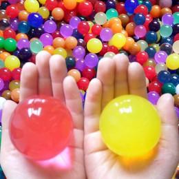 50sztuk dużych koralików wodnych lub balon kryształu magiczny wazon kulowy wypełniacz gleby wystrój galaretki owoce akadama bons