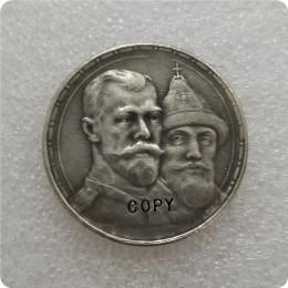 Rosja-1 rubel 1913(BC) dynastii romanowów kopiuj monety okolicznościowe-repliki monet medal monety kolekcje