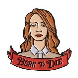Urodzony, aby umrzeć przypinka Lana del Rey super prezent dla fanów