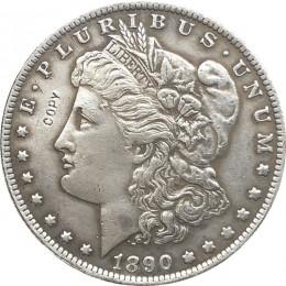 1890-S USA Morgan Dollar monety kopia