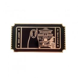 Spirited Away No Face bilet na film Pin