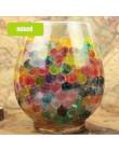 100 sztuk/worek Crystal gleby hydrożel żel polimerowe koraliki wodne dekoracje ślubne polimerowe rosnące kule wodne Big Home Dec