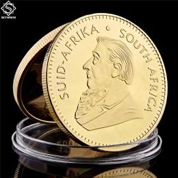 1967 republika południowej afryki arabia saudyjska Krugerrand 1OZ złota moneta Paul Kruger Token wartość monety kolekcjonerskie