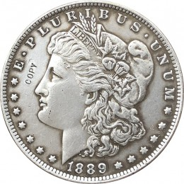 1889-CC amerykański morgan dolar monety kopia