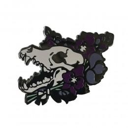 Wolfsbane wilk odznaka broszka twarda przypinka z emalii