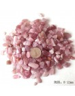 Naturalne różowe różowe kryształki kwarcowe kamienne żetony szczęście uzdrawiające kamienie naturalne i minerały artykuły wyposa