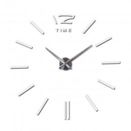 Fashion design Diy lustro akrylowe duży zegar ścienny kwarcowy zegarek martwa natura zegary nowoczesny salon naklejki dekoracyjn