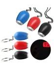 Mini budzik cyfrowy zegar projekcyjny brelok LED stylowy zegarek lampka nocna magiczny projektor zegar z przyciskiem baterii