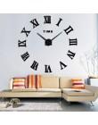 Hot moda kwarcowy zegar dekoracyjny do domu ograniczona sprzedaż 3d duże lustro diy prawdziwy zegar ścienny nowoczesny design po