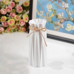 Antyceramiczna dekoracja domowa z wazonem europejski styl wiejski styl wazon plastikowy kosz na kwiaty anty-upadek kreatywna dek