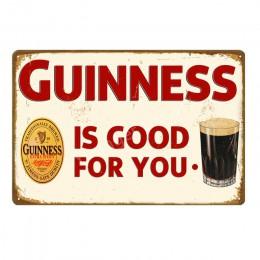 Człowiek jaskinia Decor piwo metalowe tabliczki Vintage tablica whisky plakat na ścianę dla Bar Pub Club reklama ściany płytki d