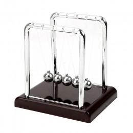 HILIFE kołyska newtona wahadło fizyczne biurko wystrój stołu stalowa wyrównać piłkę metalowa kulka wahadłowa Newton Ball
