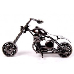 Metalowe miniaturowe figurki w kształcie motocykla ozdobne dekoracyjne modne oryginalne
