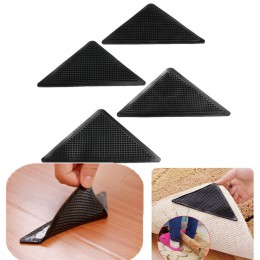 4 sztuk/zestaw wielokrotnego użytku zmywalny dywan mata dywanowa chwytaki antypoślizgowy uchwyt silikonowy do kąpieli w domu sal