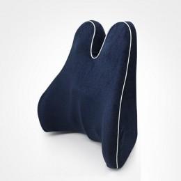 Poduszka ortopedyczna poduszka pod plecy poduszka na krzesło z pianki Memory oparcie talia Pad duży rozmiar dolny ból pleców wsp