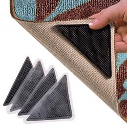 4 sztuk/zestaw wielokrotnego użytku zmywalny dywan mata dywanowa chwytaki antypoślizgowe silikonowe maty do kąpieli Grip Protect