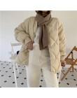 Alien Kitty Winter Fashion znosić kurtki okazjonalne jednolite topy cały mecz prosty świeży stylowy ciepły płaszcz damski luźny