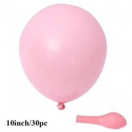 30 sztuk Macarons lateksowe Balony Balony cukierki na przyjęcie urodzinowe Balony dekoracje na imprezę urodzinową dziewczyna chł