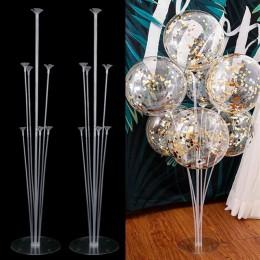 2 zestaw 14 tubek balon uchwyt balony stojak kolumna balon do konfetti dzieci urodziny Baby Shower materiały do dekoracji ślubny