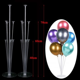 Akcesoria Ballons stojak na balon stojak łuk balonowy łańcuszek zatrzask uszczelniający kropka kleju Babyshower ślubne dekoracje