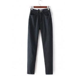GCAROL styl europejski klasyczne kobiety wysokiej talii dżinsy Vintage Slim w stylu mamy dżinsy rurki dżins wysokiej jakości spo