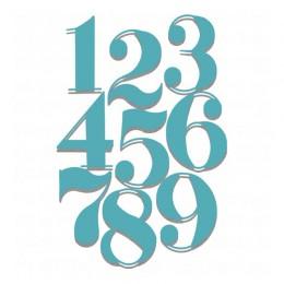 YaMinSanNiO cyfry arabskie umiera numer alfabet do cięcia metalu umiera dla DIY scrapbooking, rzemiosło karty szablon do wytłacz