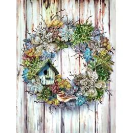 Huacan 5d diamentowe malowanie pełne wiertło kwadratowe/okrągły kwiat DIY diament haft Cross Stitch diament mozaika do dekoracji