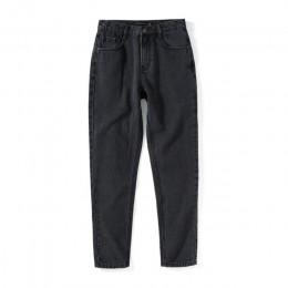 SEMIR 2019 jesień nowe spodnie jeansowe damskie w środkowej talii dżinsy bawełniane bawełniane cienkie spodnie damskie